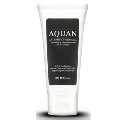 Aquan пилинг-гель для лица Aquan Soft & Perfect Peeling Gel 70гр