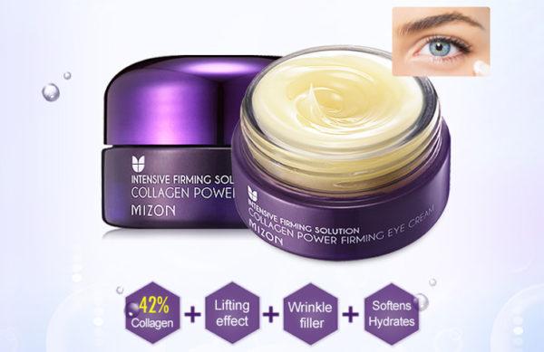 Крем для глаз коллагеновый Collagen Power Firming Eye Cream 25мл