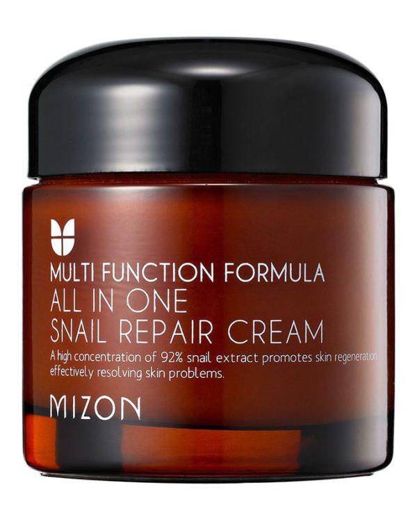 Крем с экстрактом улитки 92% Mizon All In One Snail Repair Cream 75мл