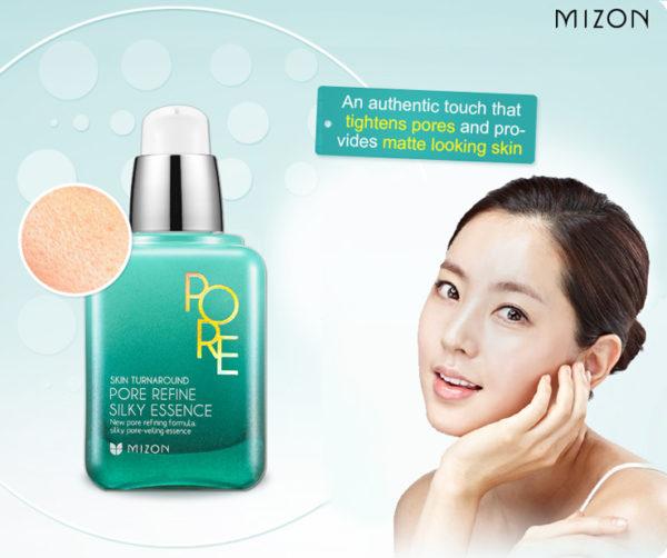 Эссенция для кожи с расширенными порами Mizon Pore Refine Silky Essence 50мл