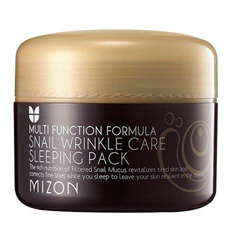 Маска улиточная ночная Mizon Snail Wrinkle Care Sleeping Pack 80мл