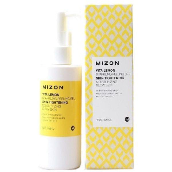 Пилинг-гель с экстрактом лимона Mizon Vita Lemon Sparkling Peeling Gel 150гр