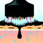 Магнитная черная маска Black Luster Mask Milky Dress Корея