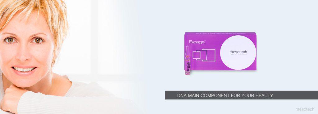 Сыворотка антивозрастная Биоэйдж (ДНК) Bioage 10x2мл Мезотек (Mesotech) Италия