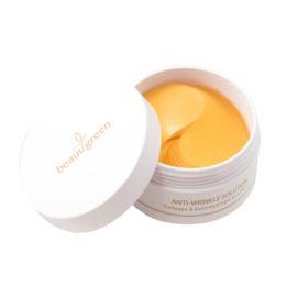 Патчи для глаз с колллагеном и коллоидным золотом Hydrogel Collagen & Gold Eye Patch, standart pack 60 шт. BeauuGreen Корея
