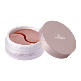 Патчи для глаз с экстрактом граната и рубиновой пудрой Hydrogel Pomegranate & Ruby Eye Patch, premium pack 60 шт. BeauuGreen Корея