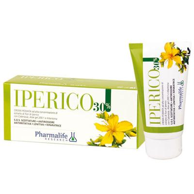 Регенерирующий фитокрем со Зверобоем Iperico 30% 75 мл Pharmalife Италия