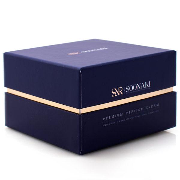Антивозрастной крем с пептидами Premium Peptide Cream 50гр Soonari Корея