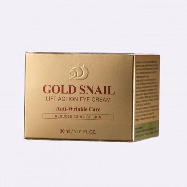 Крем для глаз на основе коллоидного золота Gold Snail Eye Cream 30 мл Gold Energy Snail Synergy Корея