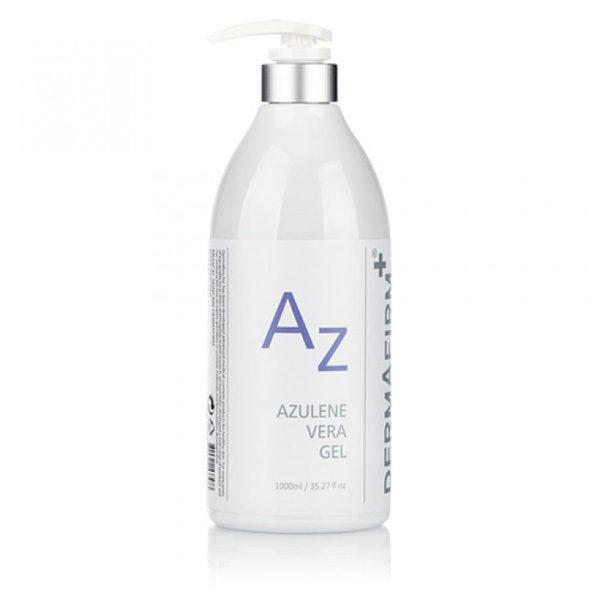 Гель увлажняющий для лица с азуленом Azulene Vera Gel 1000 мл Dermafirm Корея