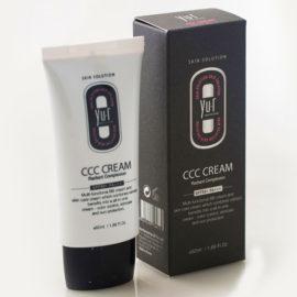 Корректирующий ССС крем оттенок темный SPF 50+ PA+++ CCC Cream 50 мл Yu.R Корея