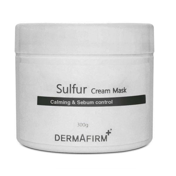 Маска кремовая антибактериальная Cream Mask Sulfur 300гр Dermafirm Корея