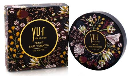 Выравнивающая основа-бальзам Skin Fit Balm Foundation 25г Yu.R Корея