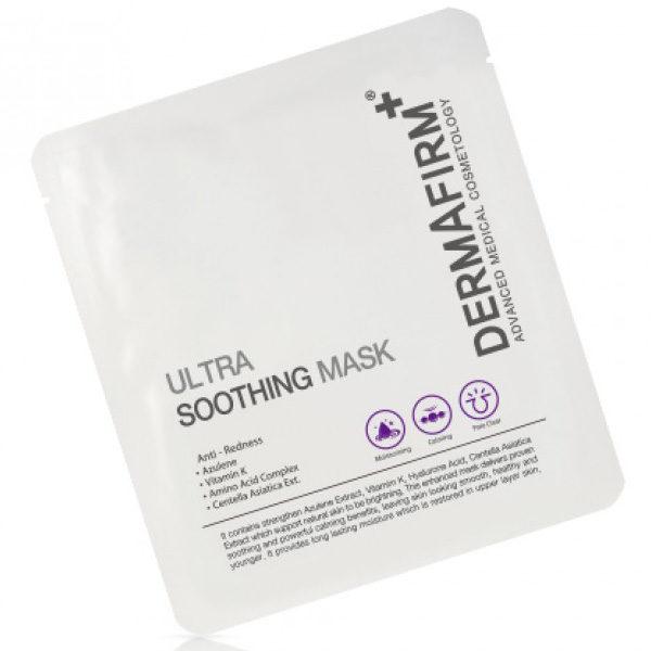 Маска успокаивающая Ultra Soothing Mask 30гр Dermafirm Корея