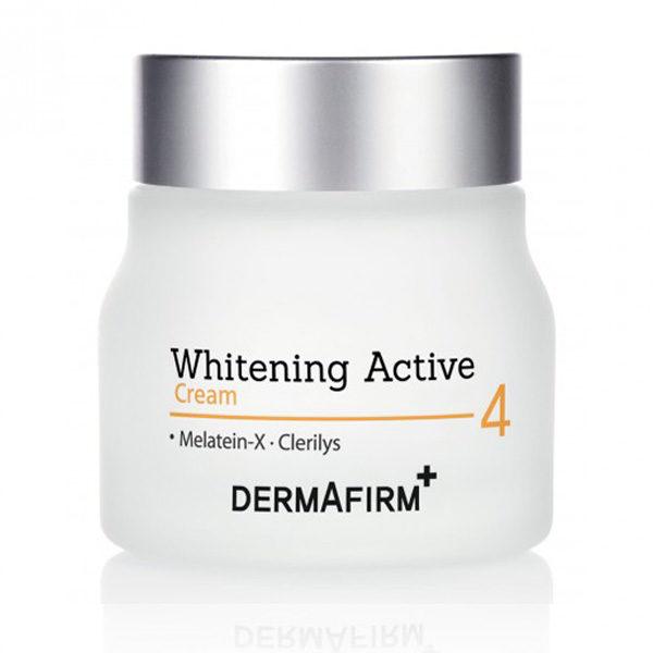 Отбеливающий активный крем Whitening Active Cream 60гр Dermafirm Корея