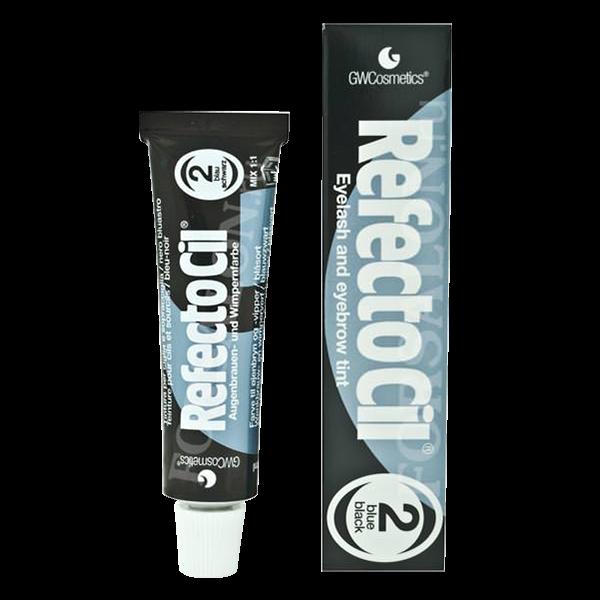 Краска для бровей и ресниц Иссиня-черная Blue black RefectoCil Австрия