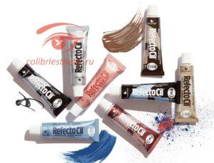 Краски для бровей и ресниц недорого по доступной цене купить в интернет-магазине