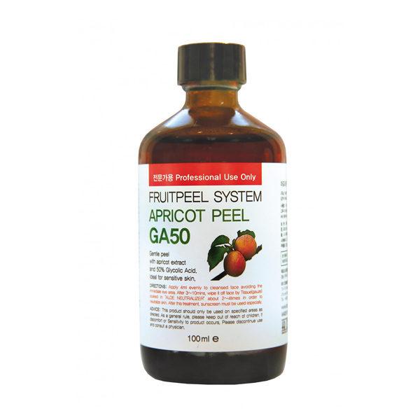 Абрикосовый пилинг Apricot Peel GA 50 (гликолевая кислота 50% pH 2,03) 50 мл KB Cosmetics Корея