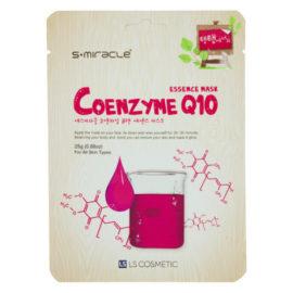 Маска для лица с коэнзимом Coenzyme Q10 Essence Mask 10 шт. S+miracle Корея