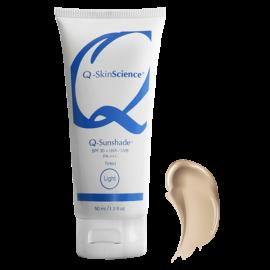 Минеральный солнцезащитный крем Бежевый Q-sunshade™ tinted sunscreen light SPF 30 Miami Peel® США