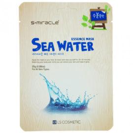 Маска для лица с морской водой Sea Water Essence Mask 10 шт. S+miracle Корея