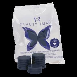 Горячий воск в дисках Синий с азуленом Azulene 1000гр Beauty Image Испания