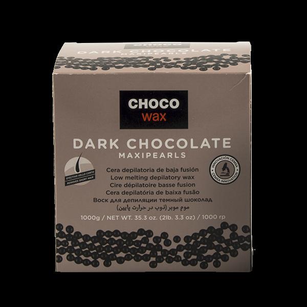 Горячий воск в гранулах Тёмный шоколад с маслом какао и сладкого миналя Chocolate 1000гр Beauty Image Испания