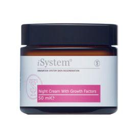 Крем ночной с факторами роста Night Cream with Growth Factors 50 мл iSystem Италия